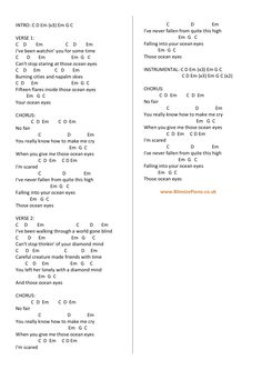 Piano Chords And Lyrics For Let It Be By The Beatles Includes
