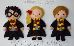 harry potter en fieltro - felt dolls