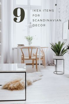9 MUST HAVE IKEA ITEMS FOR SCANDINAVIAN DECOR | Scandinavian Interior Design | #scandinavian #interior