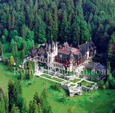 Peles Castle; Sinaia, Romania (close to Brasov)