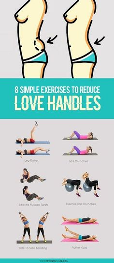 8 Easy Moves to Shrink Your Love Handles and Belly Fat | Styles Of Living
