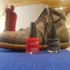 Coomarketing: CND Vinylux @ press day Camper shoes