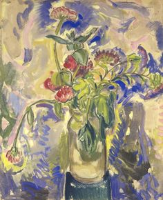 Alfred Henry Maurer Blue Flowers - The Largest Art reproductions Center In Our website. Low Wholesale Prices Great Pricing Quality Hand paintings for saleAlfred Henry Maurer Art Deco Paintings, American Impressionism, True Art, Global Art, Art Market, American Artists, Art For Sale, Blue Flowers, Art Reproductions