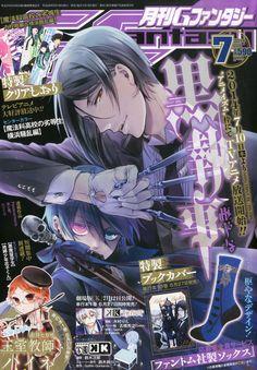 Kuroshitsuji magazine.