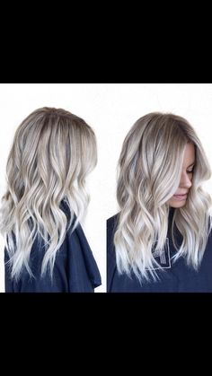 Ash blonde soft balyage                                                                                                                                                                                 More