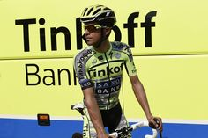 Cyclingnews.com @Cyclingnewsfeed Alberto Contador in the Tinkoff-Saxo camo team jersey for the Tour de France pic.twitter.com/nd8YiuXRFX