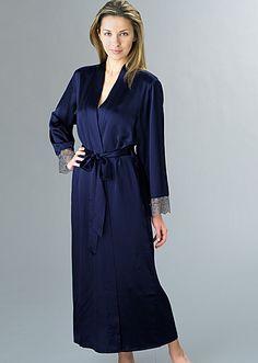 Le Soir silk full length bathrobe 7e48ff010