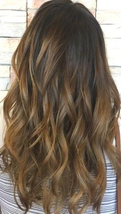 Brown bayalage Brown Bayalage, Cut And Color, Hair Colors, Makeup Inspiration, Wedding Hairstyles, Long Hair Styles, Beauty, Updos, Long Hairstyle