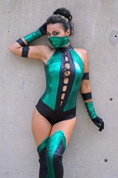 Look at this, Boobs are covered!! the mask is alright. I love the picture I just wish it was less model and more Mortal Kombat it's a cosplay but it's not a cosplay