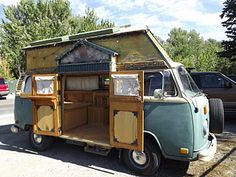Awesomely converted VW van