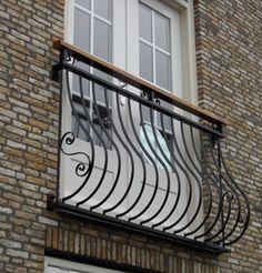 Frans Balkon - Steelwork - Op maat gemaakte design meubels