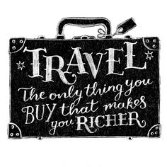 I whole heartily agree! When traveling I always bring back a better person, and a better perspective.