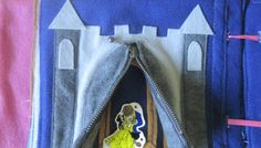 Disney Princess Inspired Quiet Book: Beauty and the Beast Castle Tutorial