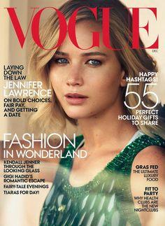 Jennifer Lawrence en Une du Vogue US.