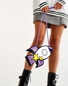 Rocket mini crossbody bag - New - Woman - PULL&BEAR United Kingdom