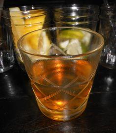 Cocktail Virgin--No. 64: Del Maguey Mezcal Vida, Carpano Antica Sweet Vermouth, Green Chartreuse, orange bitters, lemon twist
