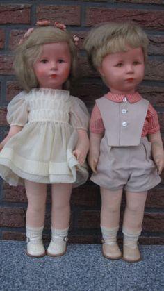 2 Käthe Kruse Puppen von 1956 | eBay