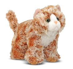 Melissa and Doug Trixie Orange Tabby Cat Stuffed Animal Cat, Cute Stuffed Animals, Needle Felted Animals, Felt Animals, Crazy Cat Lady, Crazy Cats, Orange Tabby Cats, Funny Toys, Cat Crafts
