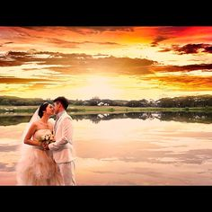 """Maybe love is like sun and moon.. Maybe they are not meant for now.. But someday they will."" -Eclipse #wedding"