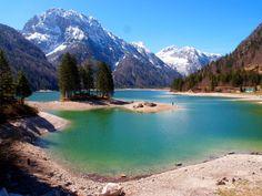 Lago del Predil lake