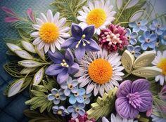 Gorgeous Quilled Floral Arrangement - by: Anastasiya Bertova - FB