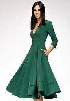 Платье 1001dress купить за 4 500 руб MP002XW141Q7 в интернет-магазине Lamoda.ru Wrap Dress, Formal, Clothes, Dresses, Style, Fashion, Preppy, Outfits, Vestidos