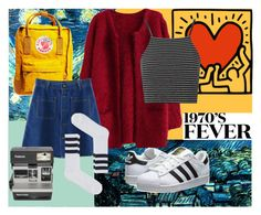 """Art Hoe Aesthetic"" by peachy-keen-bee ❤ liked on Polyvore featuring Fjällräven, Chicnova Fashion, adidas Originals, Topshop and Polaroid"