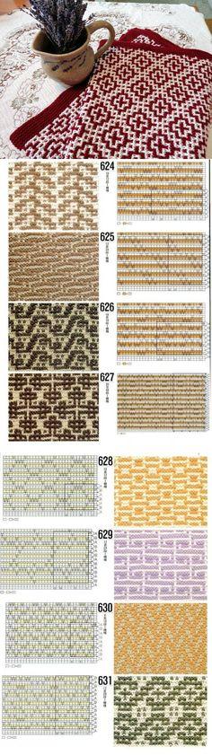 Узор спицами. Knitted Headband Free Pattern, Lace Knitting Patterns, Knitting Charts, Knitting Stitches, Stitch Patterns, Mosaic Knitting, Loom Knitting, Knitting Socks, Shibori