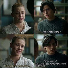Oh juggie ❤️ Riverdale Quotes, Riverdale Funny, Bughead Riverdale, Stupid Funny Memes, Funny Relatable Memes, Hilarious, Riverdale Betty And Jughead, Riverdale Archie And Veronica, Lili Reinhart And Cole Sprouse