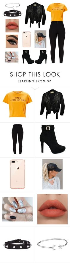 """""""State of Mind"""" by madison-mariah-shaw ❤ liked on Polyvore featuring Miss Selfridge, Acne Studios and Alex and Ani"""