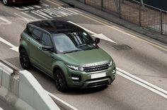 Matte Green Range Rover Evoque - 1 | MadWhips