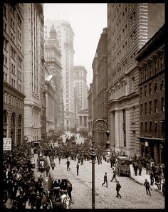 Broad Street, New York City c1905