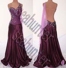 U0117 Women's Ballroom gown tango waltz quickstep salsa dance dress Custom made