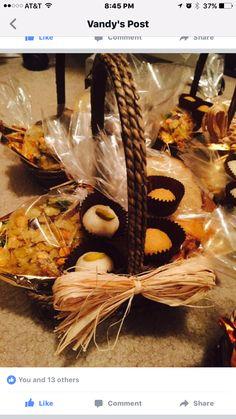 Diwali snacks in basket for friends