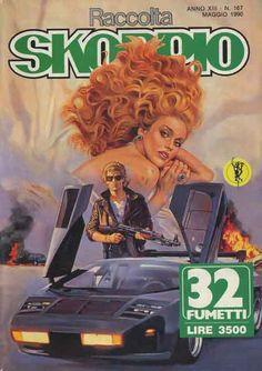 Fumetti EDITORIALE AUREA, Collana SKORPIO RACCOLTA n°167