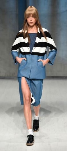 AUS: MacGraw - Runway - Mercedes-Benz Fashion Week Australia 2014