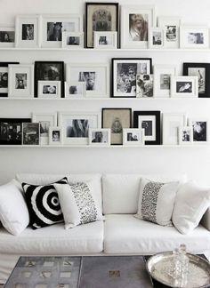 Come arredare le pareti usando le mensole