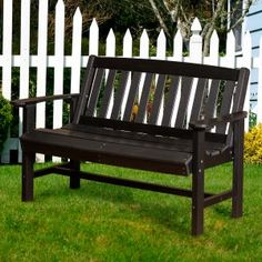 Outdoor Benches on Hayneedle - Outdoor Benches For Sale - Page 3