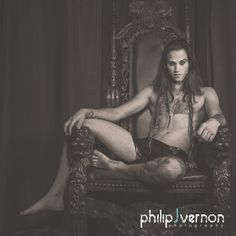 [10 / 0] Photography by philipJvernon, Model Marc Gates, Designer Catriona Stewart / Portfolio hosting and networking for models, photographers and related creatives / PurplePort