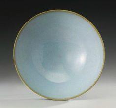 A large 'Jun' bowl, Song dynasty