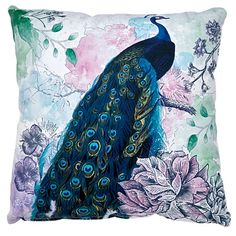 Elemis Cushion Madeline Peacock x Peacock, Cushions, Layout, Artwork, Pattern, Kids, Throw Pillows, Young Children, Toss Pillows