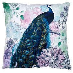 Elemis Cushion Madeline Peacock 43cm x 43cm