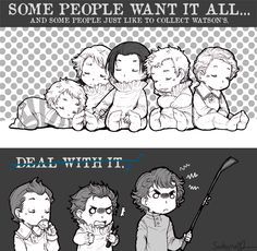 Sadyna's Blog - Random SH and other pics, again :) Some jealous Johnlock in there ^^