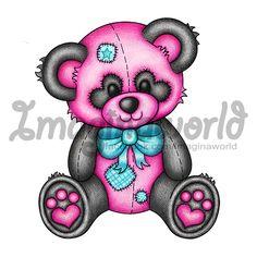 Panda LuvBear by imaginaworld on DeviantArt