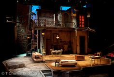 A Streetcar Named Desire. The Guthrie Theatre. Set design by Todd Rosenthal.