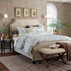 Birch Lane Parker Upholstered Panel Bed
