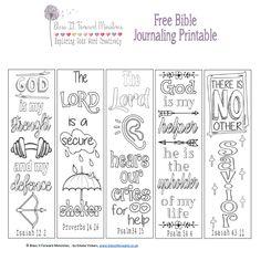 Free Bible journaling printable..... :-)