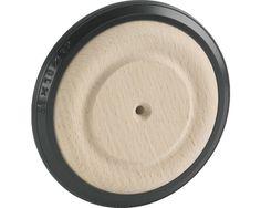 Design-houten wiel, beuken onbehandeld met rubberen band, 60x16 mm  kopen bij HORNBACH