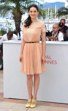 De nuevo, ella.  Festival de Cine de Cannes 2012: Marion Cotillard