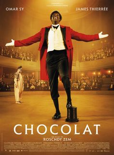 Chocolat (France, 2016) The true story of the first famous Black on the French stage, Chocolat, who formed a clowning duo with George Footit, is beautiful, riveting, poignant, and superbly cast, with the charismatic Omar Sy as Chocolat, a role he was destined to play. 3.8 stars